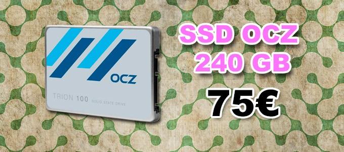 Disco SSD, Marca OCZ de 240 GB