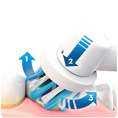 Limpieza 3D del cepillo Oral B Pro 700