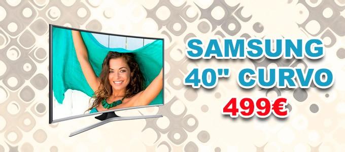 "Televisor Samsung 40"" Curvo"