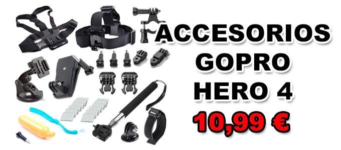 Accesorios Gopro Hero 4