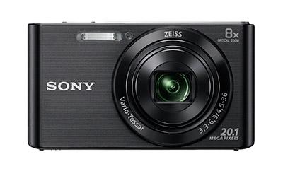 Frontal de la cámara Sony DSC-W830
