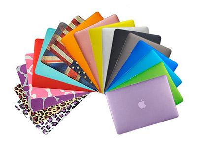 Diferentes carcasas para MacBook