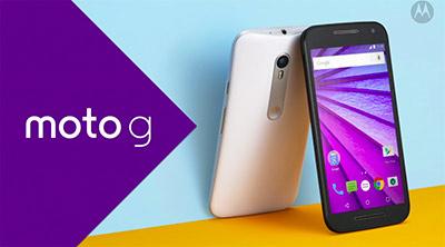 Motorola Moto G 3ª generación en dos versiones de color