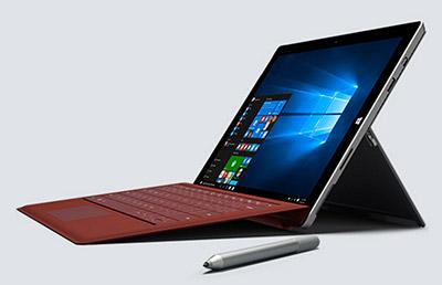 Microsoft Surface Pro 3 con teclado