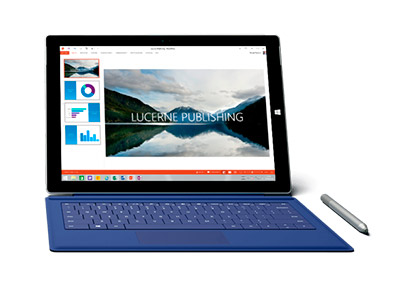 Microsoft Surface Pro 3 frontal