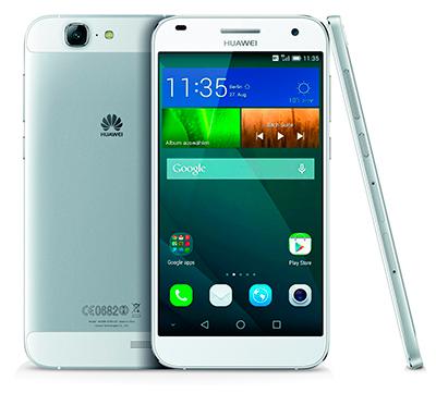 Varias vistas del smartphone Huawei G7