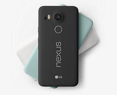 Distintos colores de LG Nexus 5X