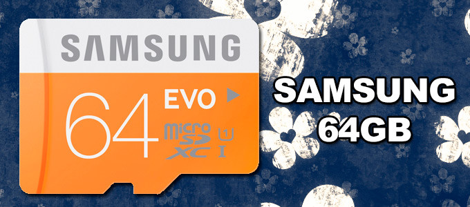 MicroSD Samsung 64GB