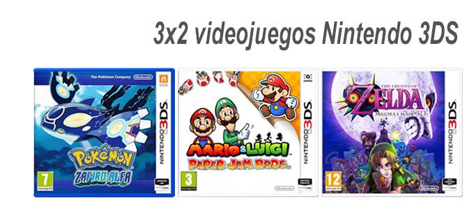 3x2 Videojuegos Nintendo 3DS