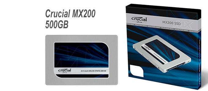 Disco Duro SSD Crucial MX200 de 500GB