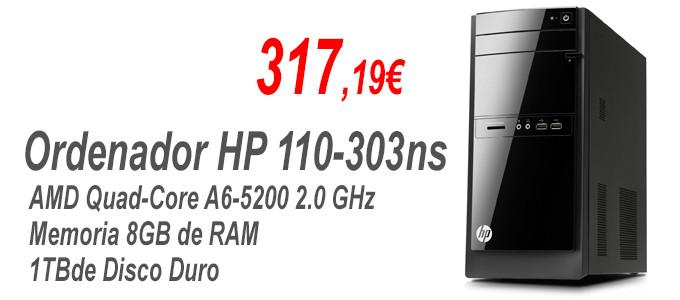 Ordenador HP-110-303ns