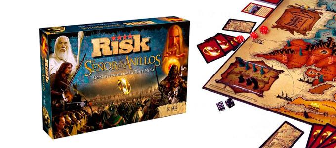 Juego Risk: El Señor de los Anillos