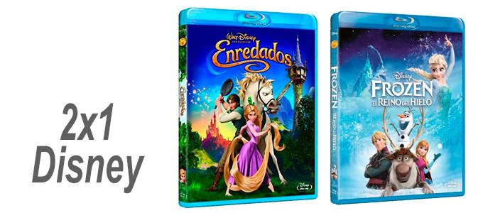 2x1 Princesas Disney