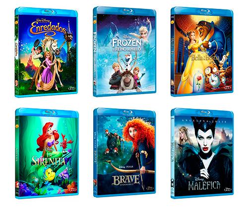 Selección 2x1 Disney