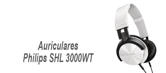 Auriculares Philips SHL-3000WT