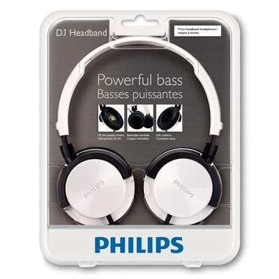 Blister de los Auriculares Philips SHL-3000WT
