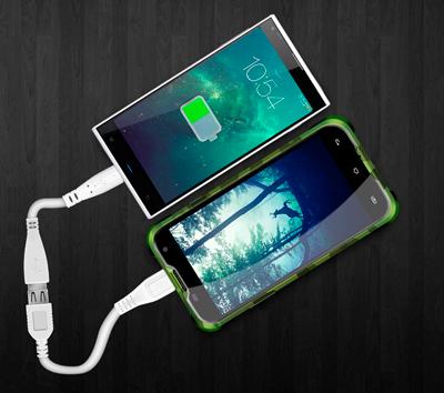 Usar el SmartPhone Blackview BV5000 como batería externa