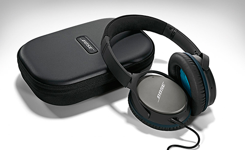 Bose QuietComfort 25 con funda