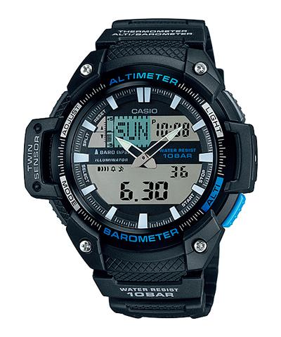Frontal del Reloj Casio Sgw-450H-1A