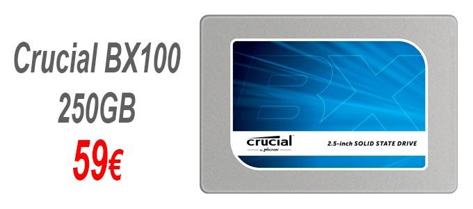 Disco SSD Crucia BX 100 250GB