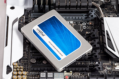 Facil instalación del disco SSD Crucial BX 100