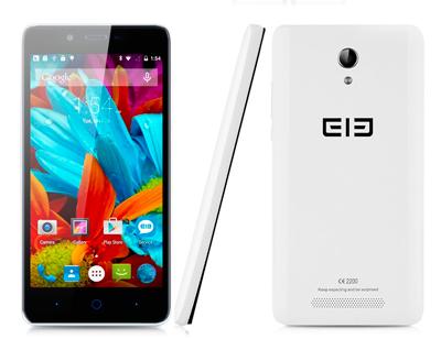 Múltiples vistas del SmartPhone Elephone P6000 Pro