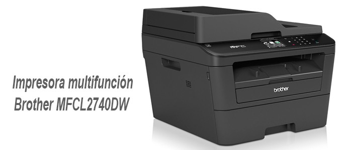 Impresora multifunción Brother MFCL2740DW
