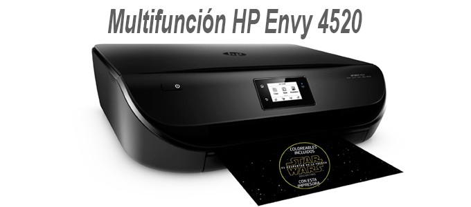 Impresora Multifuncion HP Envy 4520