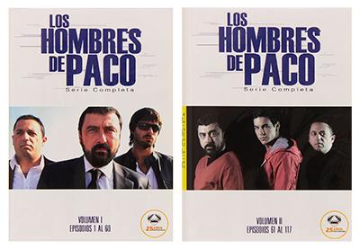 Portada de la serie Los Hombres de Paco