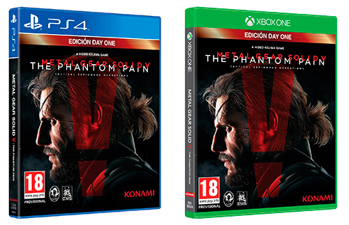 Metal Gear Solid V The Phantom Pain, Ediciones para PS4 y para Xbox One