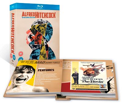 Colección Alfred Hitchcock: the Masterpiece Collection con Libro