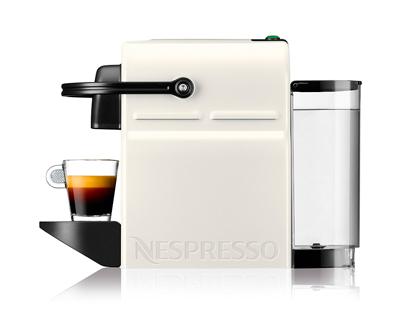 Vista lateral de la Cafetera Nespresso Krups Inissia.