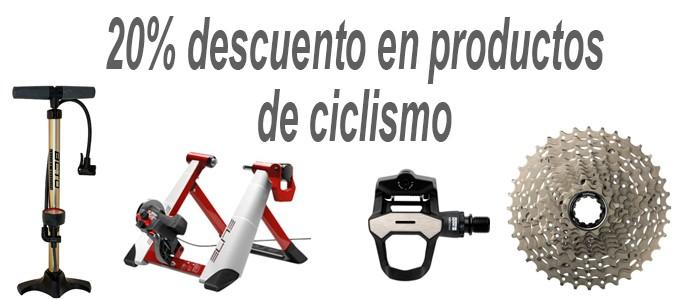 Ciclismo 20% descuento
