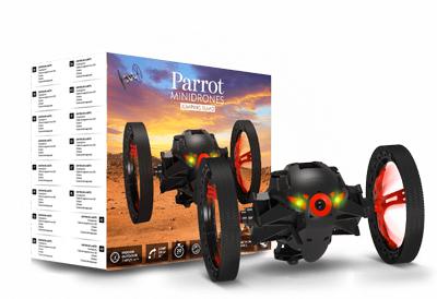 Minidrone Parrot dumping sumo color negro