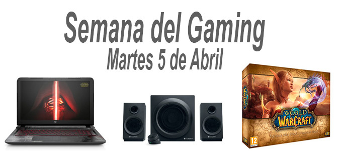 Semana del Gaming 5 de Abril de 2016
