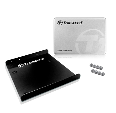 Disco duro SSD Transcend de 512GB con adaptador