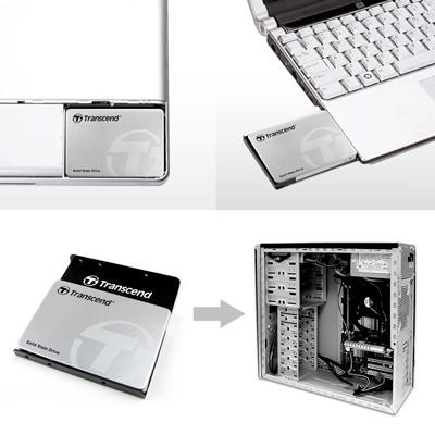 Diferentes usos del Disco Duro SSD Transcend de 512GB