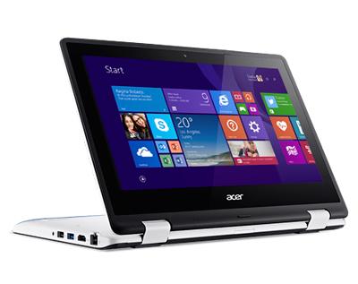 portátil Acer Aspire R11-R3-131T plegado parcialmente