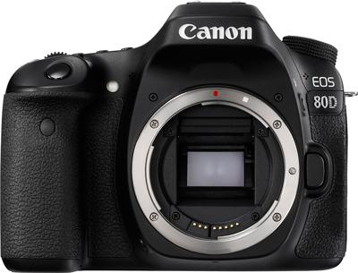 Visión general de la cámara réflex Canon EOS 80D