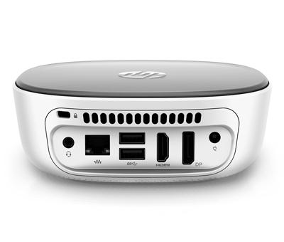 Conexiones traseras del ordenador HP Pavilion Mini 300