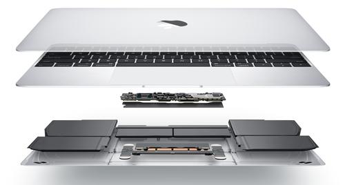 Despiece del Portátil MacBook Retina 12 pulgadas