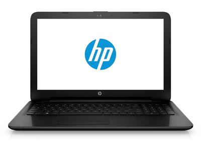 Vista general del portátil HP 15-ac142ns