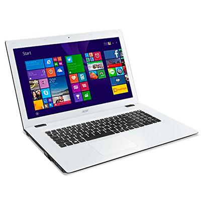 Vista frontal del portátil Acer Aspire E5-522-87UL