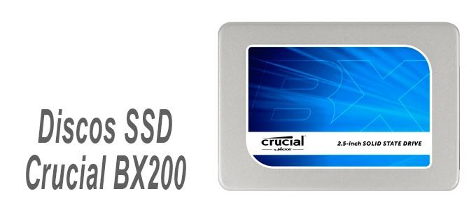 Discos SSD Crucial BX200