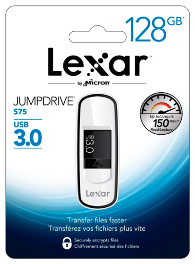 Blister del pendrive 128GB Lexar