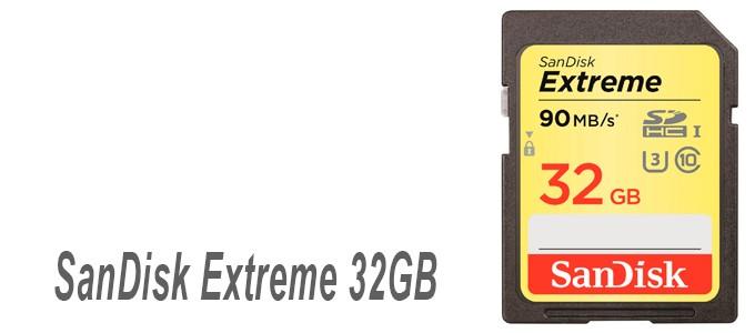 SD SanDisk Extreme 32GB