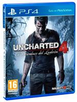 Videojuego Uncharted 4: El Desenlace Del Ladrón para PS4