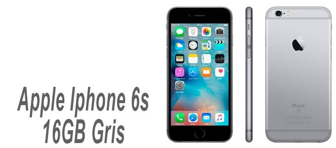 Apple Iphone 6s de 16GB color Gris