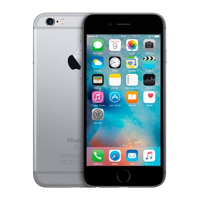 Varias vistas del Apple Iphone 6s de 16GB color gris