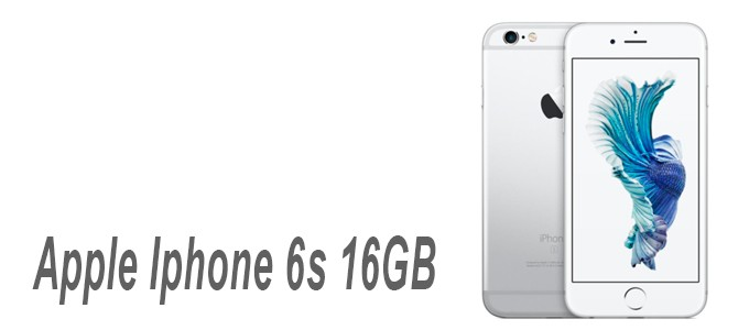 Apple Iphone 6s de16GB color plata